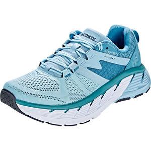 Hoka One One Gaviota 2 Running Shoes Women Forget-Me-Not/Storm Blue