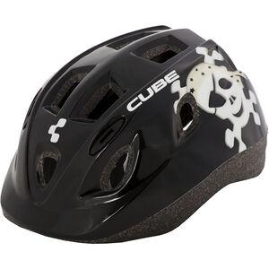 Cube Skull Kids Helmet Kinder black black
