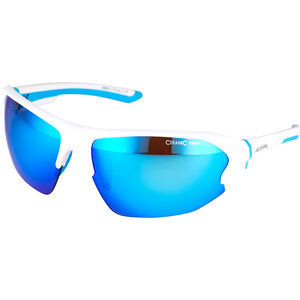 Alpina Lyron HR Glasses white matt-cyan white matt-cyan
