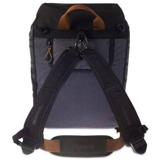 Basil Miles Daypack Gepäckträgertasche 14l black slate