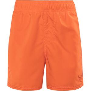 """Nike Swim Big Swoosh Logo Volley Shorts Boys 4"""" Tart"""