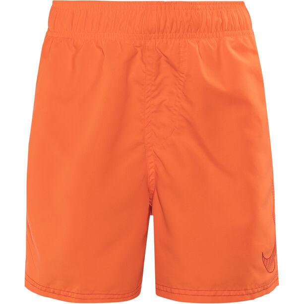 "Nike Swim Big Swoosh Logo Volley Shorts 4"" Jungs tart"