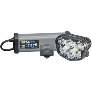 Lupine Alpha 7200 lm Helmlampe 6,9Ah SmartCore Akku Charger One Fernbedienung+Peppi bei fahrrad.de Online