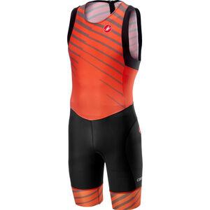 Castelli Short Distance Race Suit Herren orange orange