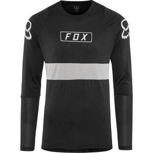 Fox Defend Fox LS Jersey Herren black black