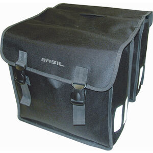 Basil Mara XL Doppel-Gepäckträgertasche L 35l schwarz