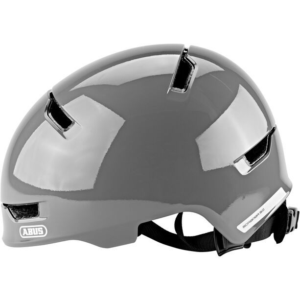 ABUS Scraper 3.0 Helm Kinder shiny grey