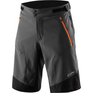 Löffler Romano Active Stretch Light Bike Shorts Herren anthrazit/orange anthrazit/orange
