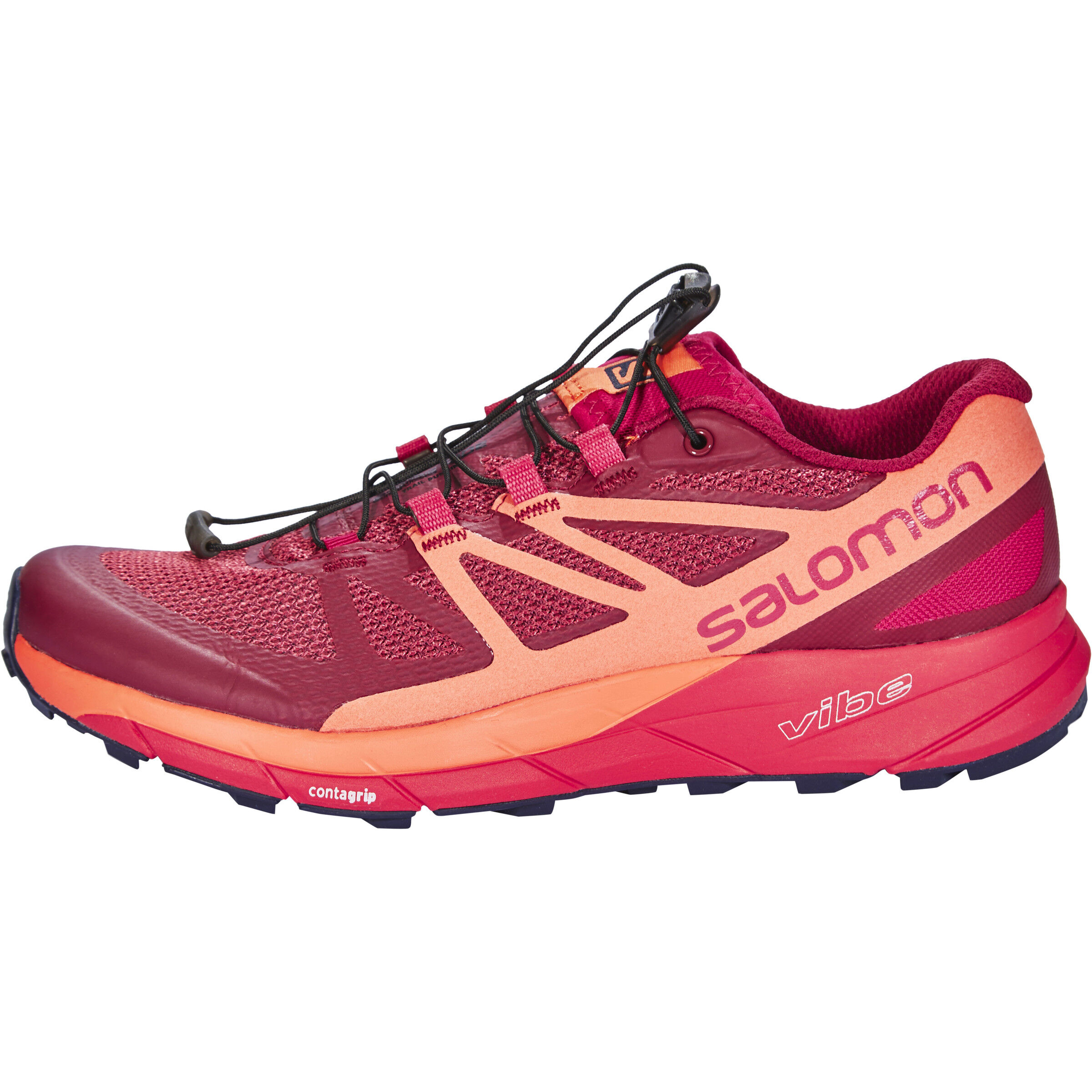Salomon SENSE RIDE Damen sangrial living coral virtual