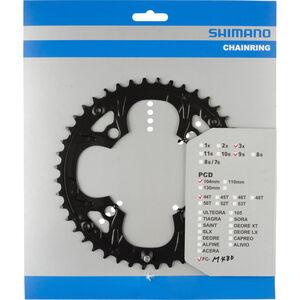 Shimano Deore FC-M480 Kettenblatt schwarz schwarz