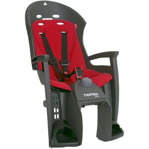 Hamax Siesta Kindersitz Gepäckträger grau/rot grau/rot