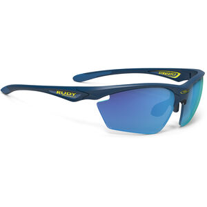 Rudy Project Stratofly Glasses blue navy matte - rp optics multilaser blue blue navy matte - rp optics multilaser blue