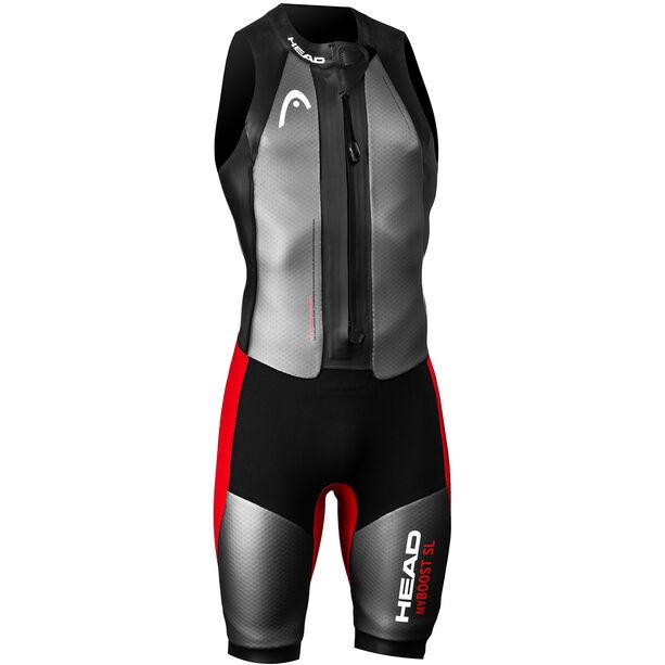 Head Swimrun MyBoost SL Wetsuit Herren black-silver-red