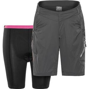 Endura Hummvee Lite Shorts mit Innenhose Damen grau grau
