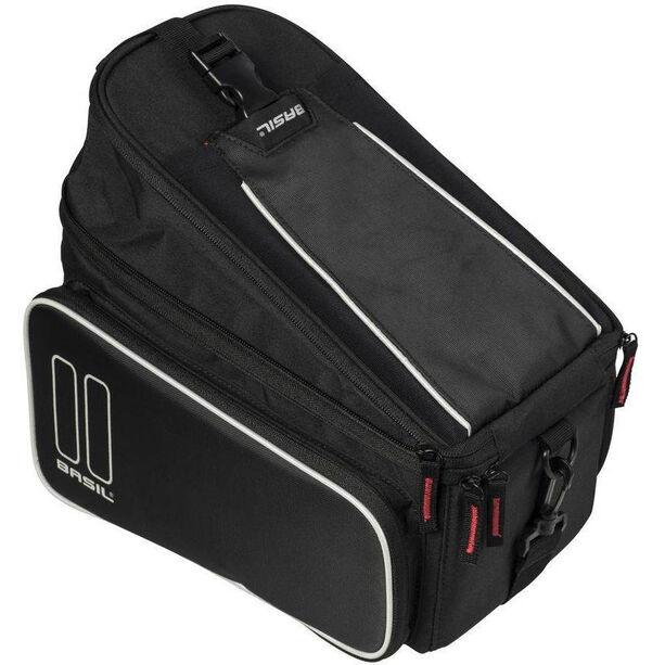 Basil Sport Design Gepäckträgertasche 7-15l mit MIK System black