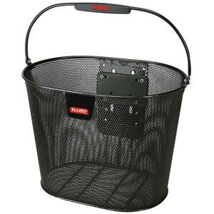 KlickFix Oval Plus EF Korb schwarz schwarz