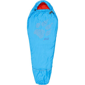 Jack Wolfskin Grow Up Sleeping Bag Kinder brilliant blue brilliant blue