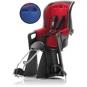 Britax Römer Jockey Relax Kindersitz mit 2 Bezügen rot/blau bei fahrrad.de Online