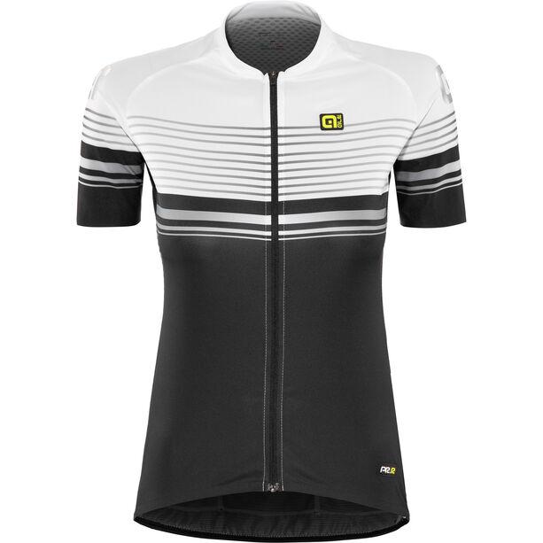 Alé Cycling Graphics PRR Slide SS Jersey Damen black-white