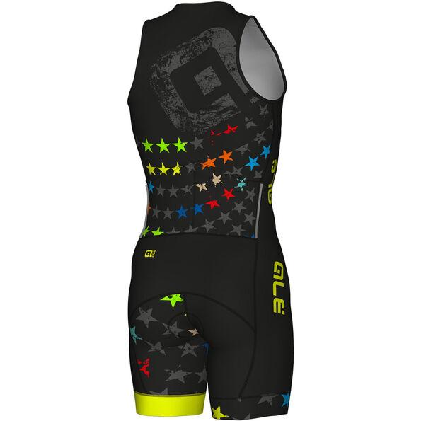 Alé Cycling Long Triathlon Stelle Skinsuit Herren