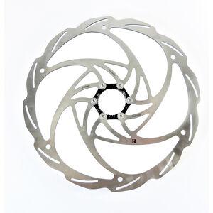Formula Monolitic Bremsscheibe Centerlock silver silver