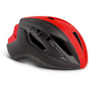 MET Strale Helm black/red panel black/red panel