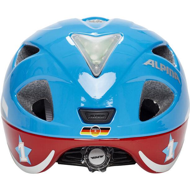 Alpina Ximo Flash Helmet Kinder red car