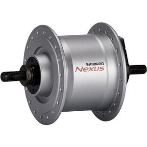 Shimano Nexus DH-C3000-3N Nabendynamo 3 Watt für Felgenbremse/Schraubachse silber silber
