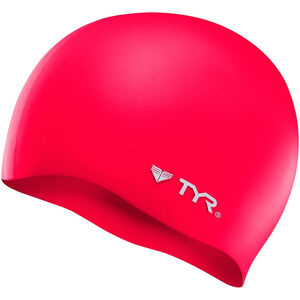 TYR Silicone Cap No Wrinkle red red