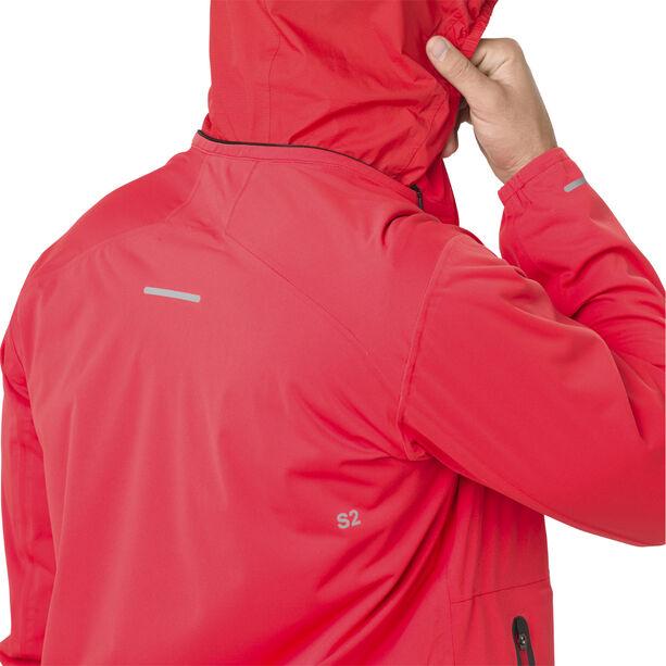 asics System Jacket Herren red alert