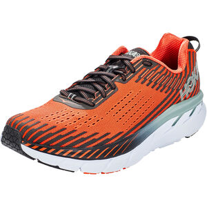 Hoka One One Clifton 5 Running Shoes Men Nasturtium/Phantom