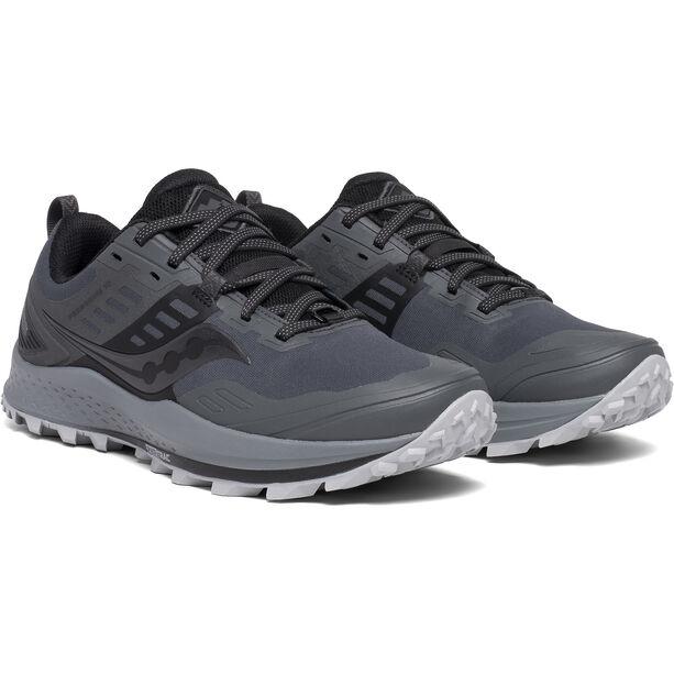 saucony Peregrine 10 GTX Schuhe Damen grey/black