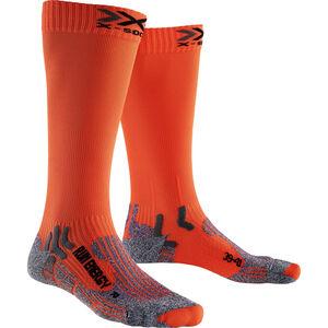 X-Socks Run Energizer V 2.0 Long Socks Unisex Orange Sunshine