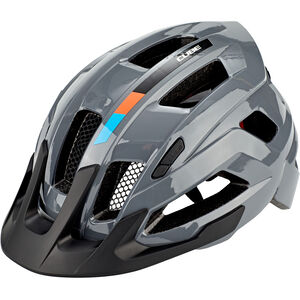 Cube Steep X Actionteam Helm grey/orange grey/orange