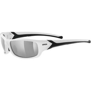 UVEX Sportstyle 211 Pola Sportglasses white/smoke bei fahrrad.de Online