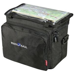 KlickFix Daypack Box Lenkertasche schwarz schwarz