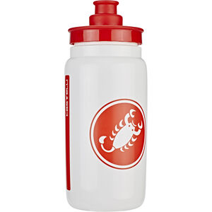 Castelli Water Bottle white white