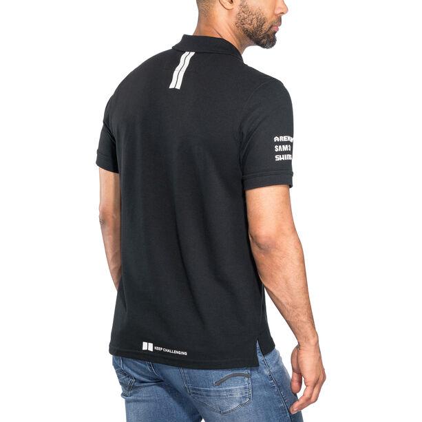 Craft Team Sunweb Pique Polo Shirt Herren black