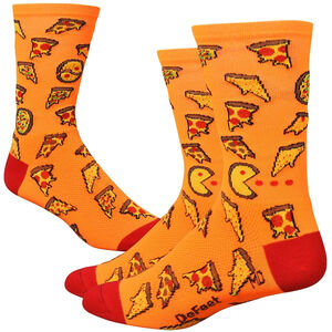 """DeFeet Aireator 6"""" Socks pizza party pizza party"""