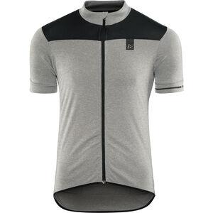 Craft Point Jersey Herren dark grey melange/black dark grey melange/black