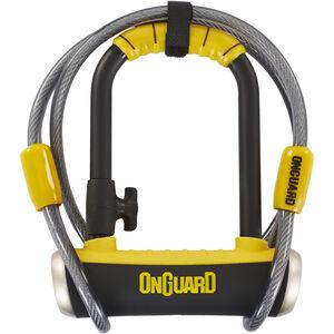 Onguard Pitbull Mini DT 8008 Bügelschloss 90x140mm schwarz/gelb schwarz/gelb