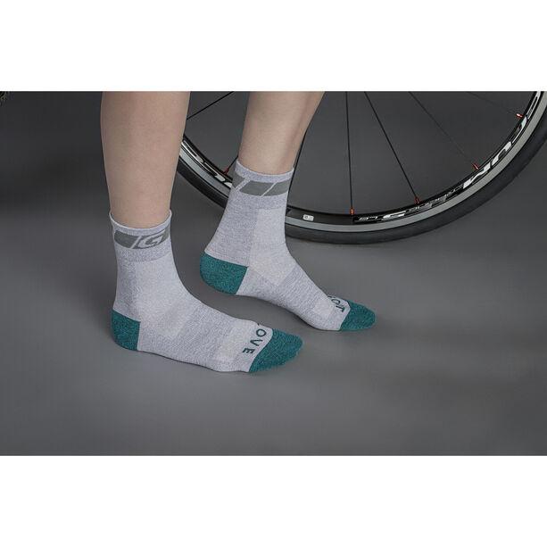 GripGrab Classic Regular Cut Cycling Socks Damen grey