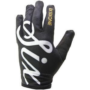SixSixOne Comp Handschuhe black script