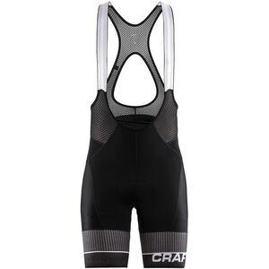 Craft Route Bib Shorts black/white