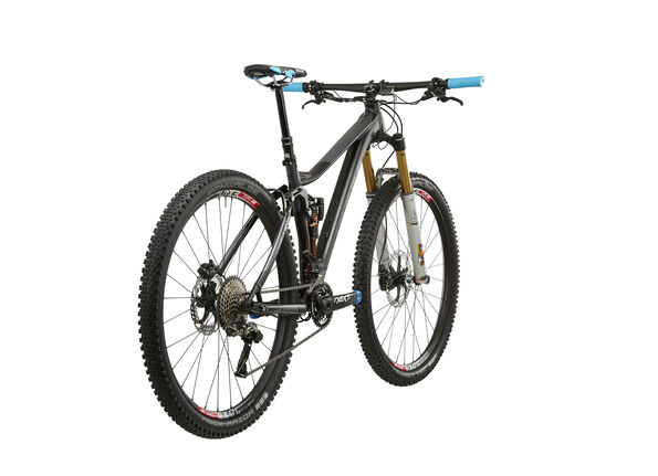 VOTEC VX Evo Trail Fully anodized black matt/dark grey glossy