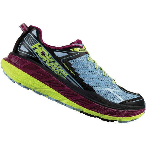 Hoka One One Stinson ATR 4 Running Shoes Women blue fog/boysenberry