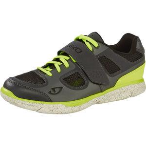 Giro Whynd Shoes dark shadow/highlight yellow