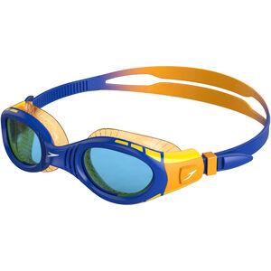 speedo Futura Biofuse Flexiseal Goggles Kinder beautiful blue/mango/blue beautiful blue/mango/blue