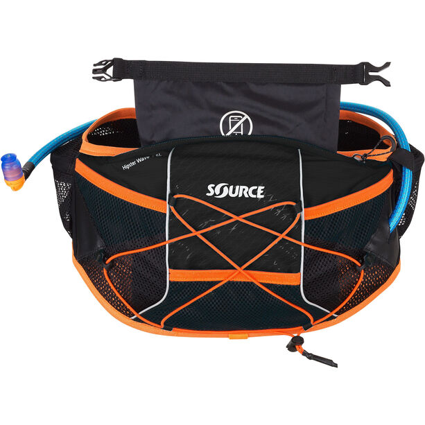 SOURCE Hipster Wave Hydration belt 1,5l black