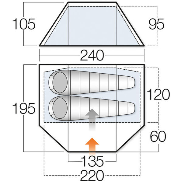 Vango Delta Alloy 200 Tent